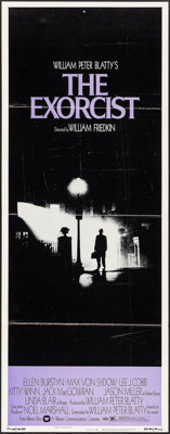 "The Exorcist (Warner Brothers, 1974). Insert (14"" X 36""). Horror"