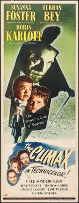 """The Climax (Universal, 1944). Insert (14"""" X 36""""). Horror"""