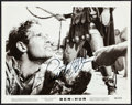 "Movie Posters:Academy Award Winners, Charlton Heston in Ben-Hur (MGM, 1959). Autographed Photo (8"" X10""). Academy Award Winners.. ..."