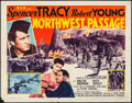 "Movie Posters:Action, Northwest Passage (MGM, R-1956). Half Sheet (22"" X 28"") Style A.Action.. ..."