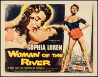 "Woman of the River (Columbia, 1957). Half Sheet (22"" X 28""). Foreign"