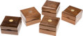 Football Collectibles:Others, 1980s and 1990s Jerry Rice Pro Bowl Watch Boxes Lot of 5....