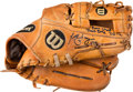 Baseball Collectibles:Others, 2012 Todd Frazier Game Used Fielder's Glove....