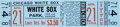 Baseball Collectibles:Tickets, 1968 Denny McLain Full Ticket to First Win of Season - 1 of 31. ...