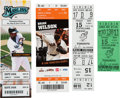 Baseball Collectibles:Tickets, 1981-2012 Matt Cain, Roy Halladay & Len Barker Perfect GameTickets & Stubs Lot of 4....