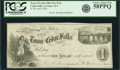 Obsoletes By State:Iowa, Cedar Falls, IA - Town of Cedar Falls Post Note $1 Apr. 1, 1858Oakes 22-1. PCGS Choice About New 58PPQ.. ...