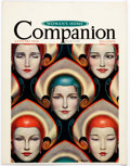 Memorabilia:Poster, Wladyslaw Theodor Benda Woman's Home Companion Magazine Posters Group of 2 (Crowell Publishing Co., 1936)....
