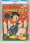 Golden Age (1938-1955):Cartoon Character, Donald Duck #nn (K. K. Publications/Whitman, 1938) CGC VG/FN 5.0 Off-white to white pages....