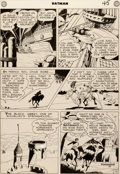Original Comic Art:Panel Pages, Dick Sprang Batman #32 Story Page 10 Original Art (DC,1945)....