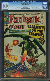 Fantastic Four #35 (Marvel, 1965) CGC VF 8.0 Off-white to white pages