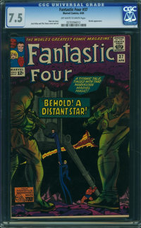 Fantastic Four #37 (Marvel, 1965) CGC VF- 7.5 Off-white to white pages