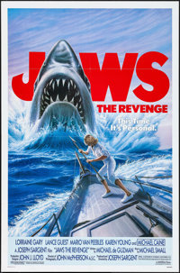 "Jaws: The Revenge & Other Lot (Universal, 1987). One Sheets (2) (27"" X 41""). Thriller. ... (Total: 2 Items..."