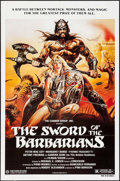 """Movie Posters:Adventure, The Sword of the Barbarians & Others Lot (Cannon, 1983). OneSheets (3) (27"""" X 41""""). Adventure.. ... (Total: 3 Items)"""