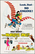"Movie Posters:Comedy, The Monkey's Uncle & Others Lot (Buena Vista, 1965). One Sheet (27"" X 41""), Spanish One Sheet (27.5"" X 39.5""), & Record Post... (Total: 3 Items)"