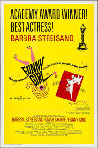 "Funny Girl & Others Lot (Columbia, 1968). One Sheets (2) (27"" X 41"") & Locally Produced One Sh..."