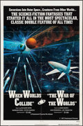 "Movie Posters:Science Fiction, When Worlds Collide/The War of the Worlds Combo & Others Lot (Paramount, R-1977). One Sheets (3) (27"" X 41""). Science Fictio... (Total: 3 Items)"