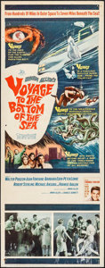 "Movie Posters:Adventure, Voyage to the Bottom of the Sea (20th Century Fox, 1961). Insert (14"" X 36""). Adventure.. ..."