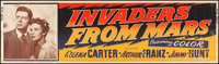 """Invaders from Mars (20th Century Fox, 1953). Silk-Screen Banner (24"""" X 82""""). Science Fiction"""