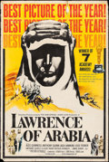 """Movie Posters:Academy Award Winners, Lawrence of Arabia (Columbia, 1963). Poster (40"""" X 60"""") AcademyAward Style. War.. ..."""
