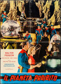 "Movie Posters:Science Fiction, Forbidden Planet (Supercinematografica, R-1964). Italian Foglio(26.5"" X 36.5""). Science Fiction.. ..."