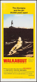 "Movie Posters:Adventure, Walkabout (20th Century Fox, 1971). Australian Daybill (13"" X 30"").Adventure.. ..."