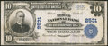 National Bank Notes:Kentucky, Harrodsburg, KY - $10 1902 Plain Back Fr. 633 The Mercer NB Ch. #2531. ...
