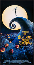 "Movie Posters:Animation, The Nightmare Before Christmas (Touchstone, 1993). AustralianDaybill (13.25"" X 25.5""). Animation.. ..."