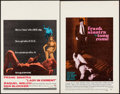 "Movie Posters:Crime, Lady in Cement & Other Lot (20th Century Fox, 1968). WindowCards (2) (14"" X 22""). Crime.. ... (Total: 2 Items)"