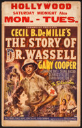 """Movie Posters:War, The Story of Dr. Wassell (Paramount, 1944). Window Card (14"""" X22""""). War.. ..."""