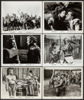 "Movie Posters:Action, Spartacus (Universal International, 1960). Photos (34) (8"" X 10"").Action.. ... (Total: 34 Items)"