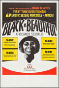 "Movie Posters:Blaxploitation, Black is Beautiful & Other Lot (Documento Films, 1974). OneSheet (27"" X 41"" & 28"" X 42""). Blaxploitation.. ... (Total: 2Items)"