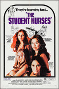 """Movie Posters:Sexploitation, The Student Nurses & Other Lot (New World, 1970). One Sheets(2) (27"""" X 41""""). Sexploitation.. ... (Total: 2 Items)"""