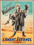 "Movie Posters:Adventure, The Son of the Sheik (Astra Films, R-1930s). French Affiche (23.5""X 31.5""). Adventure.. ..."