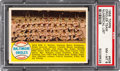Baseball Cards:Singles (1950-1959), 1958 Topps Baltimore Orioles Team - Numerical List #408 PSA NM-MT 8- None Higher....