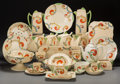 Ceramics & Porcelain, British:Contemporary   (1950 to present)  , An Assembled One Hundred Twenty-Piece Royal Doulton SyrenPattern Partial Service with Associated Tea Service and ... (Total:135 Items)