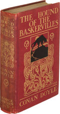 Books:Mystery & Detective Fiction, A[rthur]. Conan Doyle. The Hound of the Baskervilles. London: George Newnes, 1902. First edition....