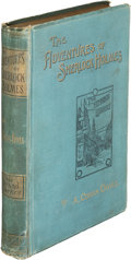 Books:Mystery & Detective Fiction, A[rthur]. Conan Doyle. The Adventures of Sherlock Holmes.London: George Newnes, Limited, 1892. First edition, f...