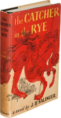Books:Literature 1900-up, J. D. Salinger. The Catcher in the Rye. Boston: Little,Brown and Company, 1951. First edition....