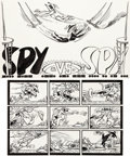 Original Comic Art:Complete Story, Antonio Prohias MAD Magazine #82 Complete 1-Page Story Spyvs Spy Original Art (EC, 1963).... (Total: 2 Original Art)
