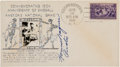 "Baseball Collectibles:Others, 1939 Honus Wagner ""Pirates"" Signed First Day Cover. ..."