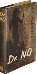 "Books:Mystery & Detective Fiction, [James Bond]. Ian Fleming. Dr. No. London: Jonathan Cape,[1958]. First edition, second state binding with ""Honeychi..."