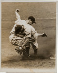 Baseball Collectibles:Photos, 1937 Lou Gehrig Original News Photograph Taken During World Series,PSA/DNA Type 1. ...