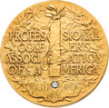Golf Collectibles:Autographs, 1926 Walter Hagen PGA Championship Gold Medal....