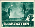 "Movie Posters:Horror, Frankenstein (Universal, R-1947). Lobby Card (11"" X 14"").. ..."