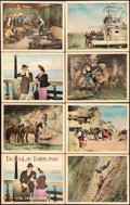 "Movie Posters:Adventure, The Mollycoddle (United Artists, 1920). Lobby Card Set of 8 (11"" X14"").. ... (Total: 8 Items)"