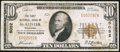 National Bank Notes:Oklahoma, McAlester, OK - $10 1929 Ty. 1 The First NB Ch. # 5052. ...