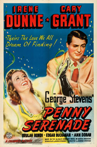"""Penny Serenade (Columbia, 1941). One Sheet (27"""" X 41"""") Style B"""