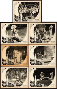 """Salome (United Artists, 1923). Lobby Cards (7) (11"""" X 14""""). ... (Total: 7 Items)"""