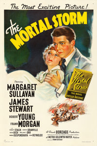 "The Mortal Storm (MGM, 1940). One Sheet (27"" X 41"") Style C"