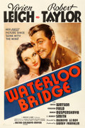 "Movie Posters:Romance, Waterloo Bridge (MGM, 1940). One Sheet (27"" X 41"") Style C.. ..."
